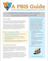 PBIS parent flyer