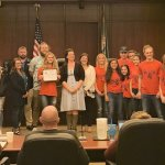 STRIPES mentors at BG City Hall