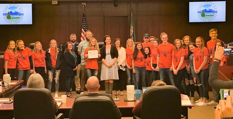 STRIPES mentors at BG City Council