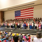 Tukes Valley Primary students perform at last year's Veterans Day assembly