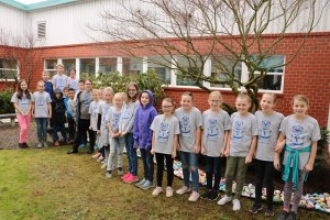 Fourth Grade leaders at Yacolt Primary