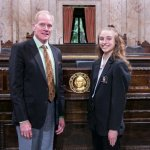 Jenny Drygas-Miller with Rep. Paul Harris