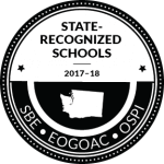 Washington State Recognized Schools Logo