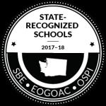 Washington State Recognized Schools Logo