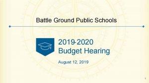 Budget Hearing Title Slide