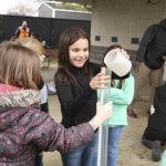 Maple Grove Students testing water samples