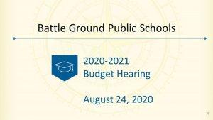 Budget Hearing presentation image