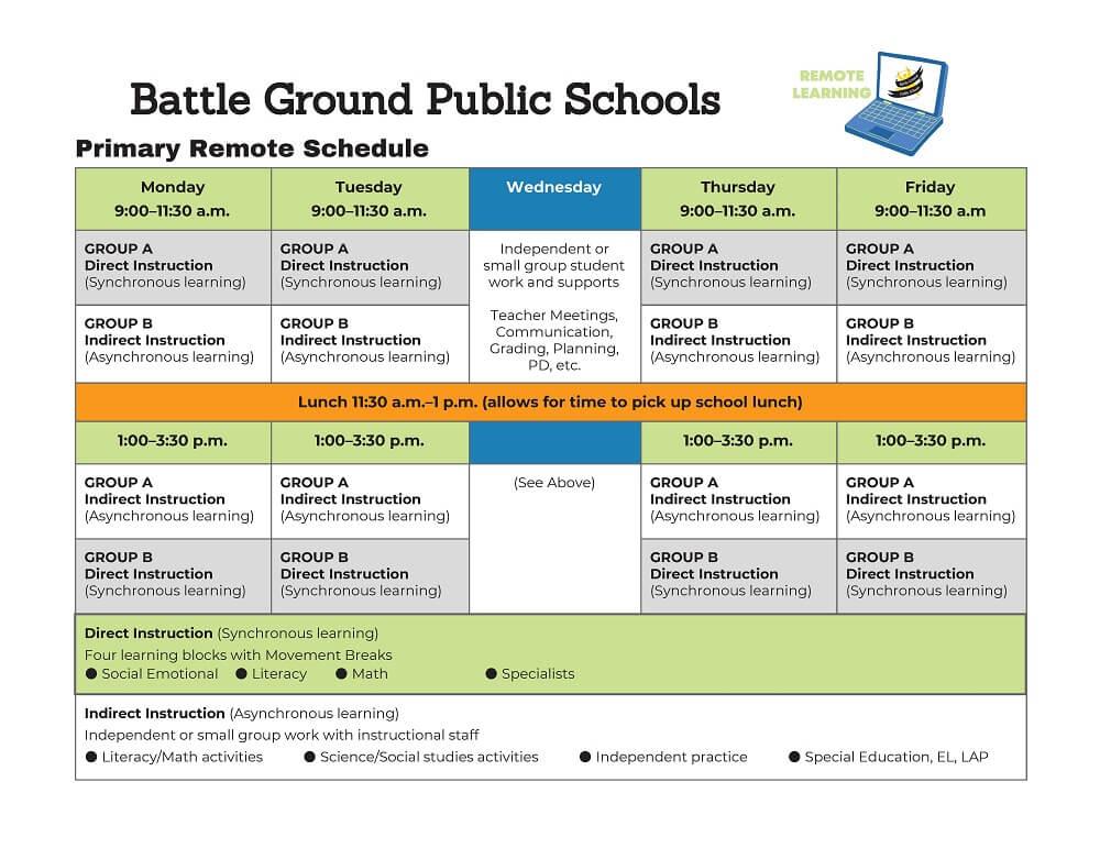 Primary School Schedules
