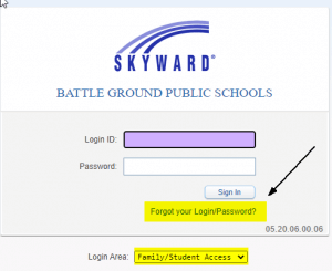 Skyward Login Help