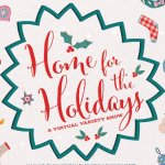Home for the holidays choir poster