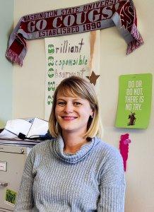Teacher Allison Brown