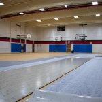 Gym floor replacement